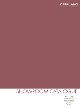 Catalano Showroom Catalogue 2020