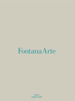 FontanaArte News Update 2016